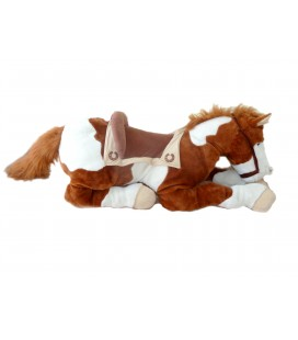 Peluche Géante CHEVAL marron - Big Giant Horse Plush - L 90 cm Toys r us Playkids