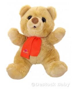 Peluche OURS Grumly - L'ours Grognon - Grumbling bear - JEMINI - 30 cm