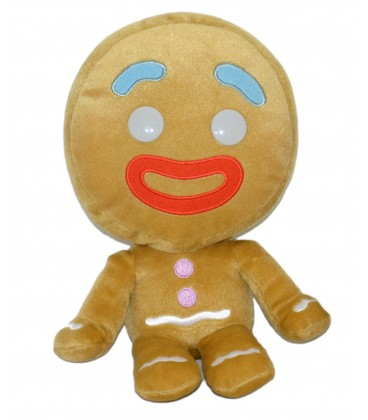 Peluche doudou Ti Biscuit - Shrek - Big Headz Dreamworks 24 cm