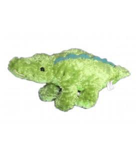 Doudou peluche crocodile Vert - K M International 2006 - L 38 cm