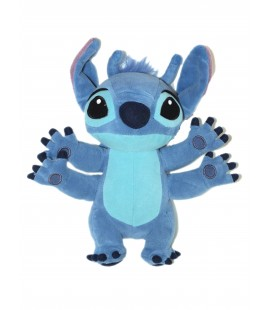Peluche doudou LILO & STITCH H 26 cm Disneyland Resort Paris Authentique Disney