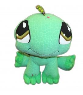 Doudou peluche Dinosaure Vert - Littlest PET SHOP Hasbro - H 22 cm