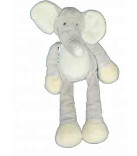 Peluche Doudou ELEPHANT gris - GUND Kids - 23 cm