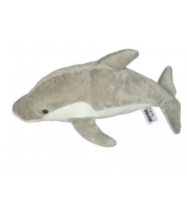 Peluche doudou DAUPHIN - Dolphin Delphin Plüsch Plush - SEMO Trigon