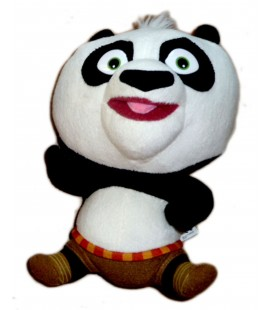 Peluches doudou Panda KUNG FU PANDA BIG HEADZ - 22 cm