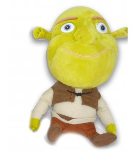 Peluche doudou Shrek Big Headz Dreamworks 24 cm