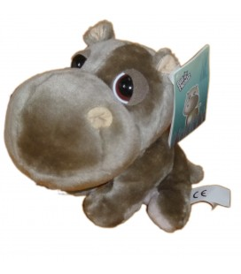 PELUCHE DOUDOU ELEPHANT GRIS BIG HEADZ