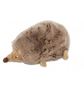 Peluche Doudou HERISSON marron gris Kapplar Igelkott - IKEA - L 26 cm