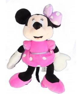 Doudou peluche Minnie Disney Nicotoy Noeud Mauve 30 cm 587/1753