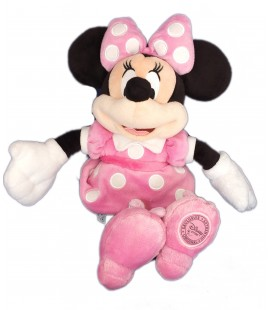 Doudou peluche MINNIE Disneyland Resort Paris Disney Store - H 32 cm