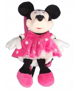 Doudou peluche Sac à Dos Enfant - MINNIE - H 42 cm Disney