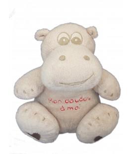 Doudou Hippopotame gris ORCHESTRA - Mon Doudou a moi 20 cm