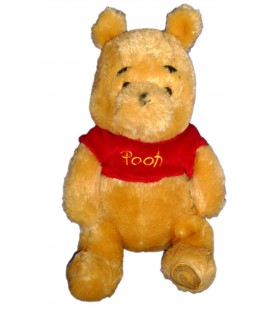 Peluche doudou Winnie l'Ourson Exclusive Disney store Longs poils 22/30 cm