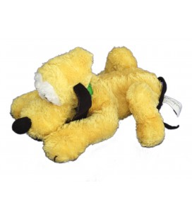 Doudou peluche PLUTO allongé - Authentique Disneyland Paris Disney Store - l 20 cm