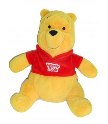 Peluche doudou Winnie l'Ourson The Pooh - Etiquette pot de Miel - H 30 cm - NICOTOY 587/1296 22082