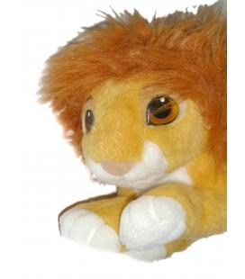 VINTAGE - Doudou peluche LE ROI LION - Simba - Crinière amovible - Authentic Disney Classic - L 26 cm