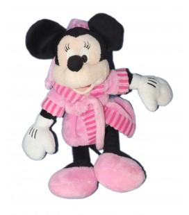 Doudou peluche - MINNIE - Peignoir Rose - H 30 cm Disney Nicotoy Simba