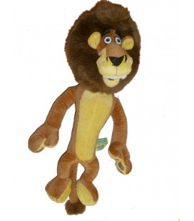 Peluche doudou LION Alex Madagascar Play by Play - 40 cm