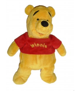Peluche doudou Winnie l'Ourson The Pooh Disneyland Resort Paris H 32 cm