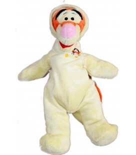 Doudou Tigrou pyjama grenouillère jaune Disney Nicotoy 36 cm