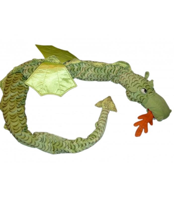 peluche doudou ikea dragon vert l 190 cm minnen drake chez vous d s demain. Black Bedroom Furniture Sets. Home Design Ideas
