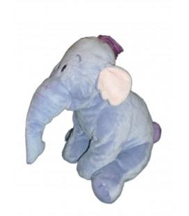 Doudou peluche LUMPY Efelant Elephant mauve Disney Nicotoy H 30 cm 587/3441 12103