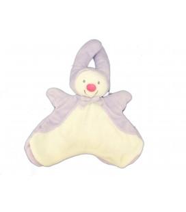 Doudou LUTIN Papillon blanc mauve Marionnette - KIABI Avda Q7861