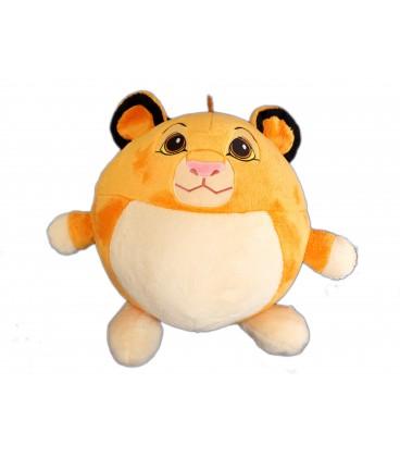 Peluche ronde boule Simba LE ROI LION Disney Nicotoy Simba Toys H 30 ...