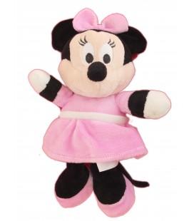 Doudou peluche MINNIE Robe rose Disney Nicotoy - H 22 cm - 587/9253 24754
