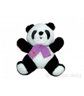 Peluche PANDA Grumly - L'ours Grognon - Grumbling bear - JEMINI