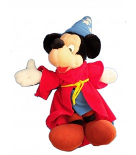 Peluche de collection WALT DISNEY WORLD - Mickey Magicien Fantasia 35 cm
