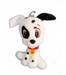 Doudou peluche CHIEN Les 101 Dalmatiens Pet Shop - 20 cm Nicotoy Bean Bag