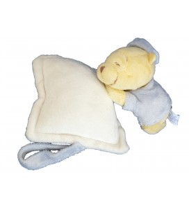 Doudou musical peluche WINNIE L'OURSON Disney Baby - Coussin blanc