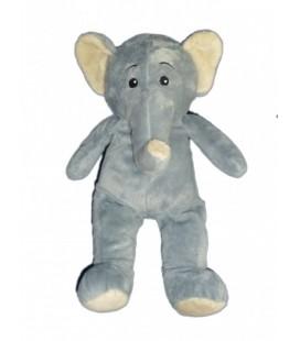Peluche Doudou Elephant gris MAX ET and SAX 38 cm