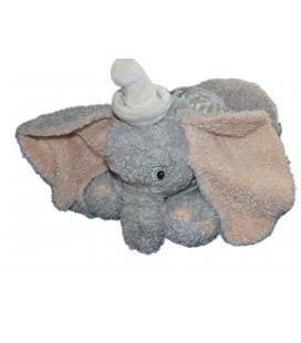 Peluche DUMBO L'ELEPHANT VOLANT Disney Store L 30 cm H 25 cm Colerette