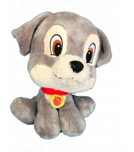 Doudou Peluche Littlest Pet Shop H 24 cm Clochard le chien La Belle et le Clochard Disney Nicotoy