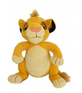 Peluche Simba LE ROI LION Disney Mega Blocks H 30 cm