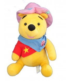 Peluche WINNIE L'OURSON Déguisé en Shérif - FISHER PRICE 2004