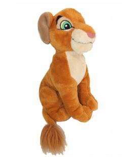 Peluche Doudou Kovu Simba Nala LE ROI LION - Disney Disneyland Paris - H 18 cm