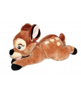 Peluche doudou BAMBI allongé Disney Nicotoy Simba L 45 cm 587/9929