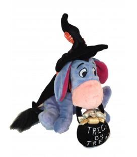 Peluche Doudou Bourriquet Eeyore HALLOWEEN - Disney Disneyland Paris - H 18 cm