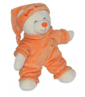 Doudou peluche OURS Orange Gipsy Baby Bear 30 cm Lune