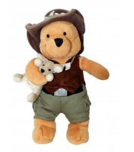 Peluche doudou WINNIE L'OURSON Australian Pooh 25 cm Disney Store