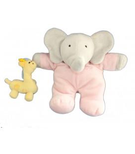 Peluche Musicale Flore 24 cm Doudou Girafe LANSAY Babar pour Bébé