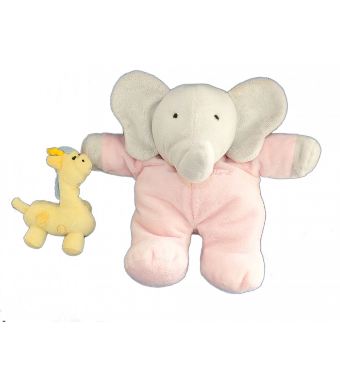 peluche musicale flore 24 cm doudou girafe lansay babar pour b b. Black Bedroom Furniture Sets. Home Design Ideas