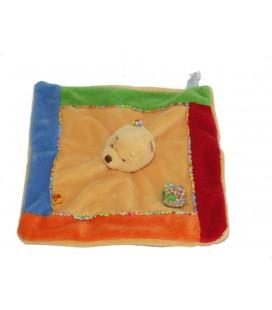 Doudou plat Winnie Fleur Abeille Disney Baby Nicotoy 587/0069