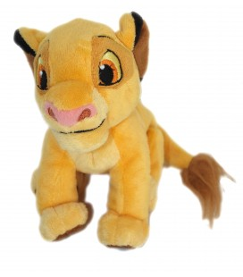 Doudou peluche Simba LE ROI LION - Disney Store London The Lion King plush 16 cm x 18 cm