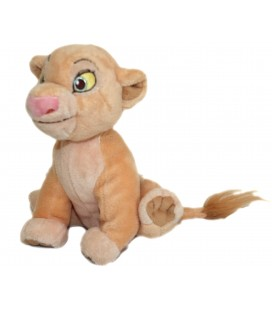 Doudou peluche Nala LE ROI LION - Disney Store London The Lion King plush H 18 cm