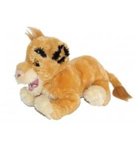 Doudou peluche Simba LE ROI LION Longs poils Disney L 32 cm