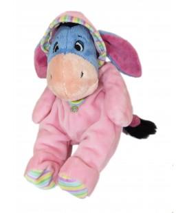 Peluche doudou Bourriquet Pyjama rose Disney Nicotoy H 32 cm